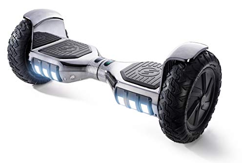 """RIDE SWFT Sonic Hoverboard Self Balancing Scooter,10"""" Off Road Pneumatic Tires, Top Speed of 9..."""