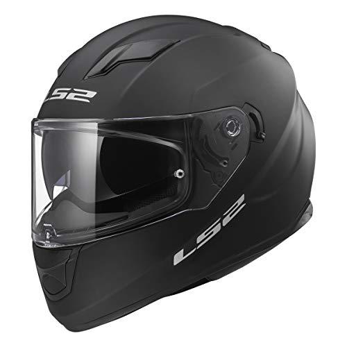 LS2 Helmets Full Face Stream Street Helmet (Matte Black - Large)