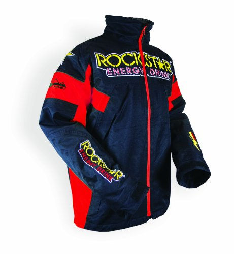 HMK Men's 'ROCKSTAR' Superior TR Jacket (Red, X-Large)