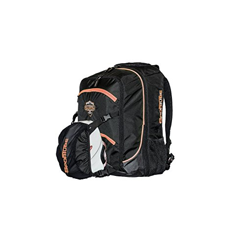 Sportube BGSOHORG Overheader Boot Bag, Black/Orange, 44 Liters