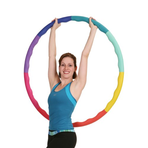 Sports Hoop Weighted Hoop, Weight Loss ACU Hoop 3L - 3.3lb (41 inches Wide) Large, Weighted Fitness...