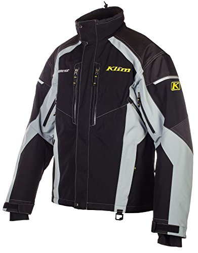 KLIM Mens Vector Parka Jacket, Black, Medium