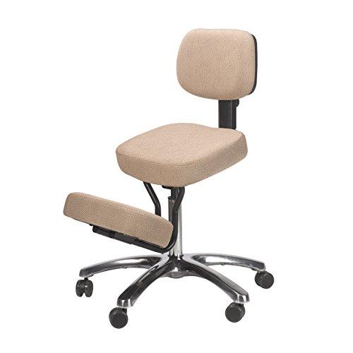 BetterPosture Jazzy Kneeling Chair – Multifunctional Ergonomic Posture Kneeling Chair Helps Reduce...