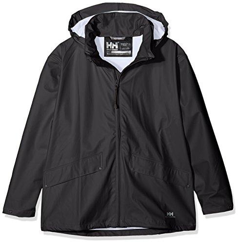 Helly Hansen Boy's Voss Jacket, Black, 10