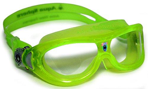 Aqua Sphere Seal Kid 2 Swim Goggle, Clear Lens / Lime