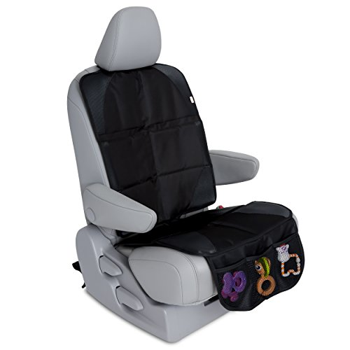 Car Seat Protector for Under Car Seat - Covers Entire Seat - Premium Durable Construction - Seat...