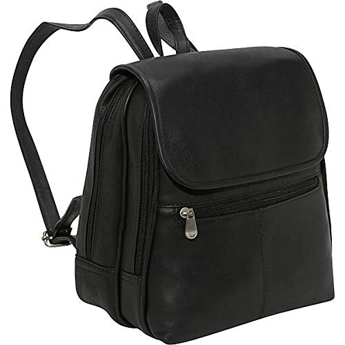 Le Donne Leather Women's Organizer Backpack/Purse – Premium Full-Grain Colombian Vaquetta...