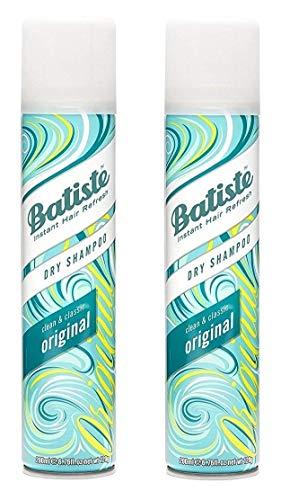 Batiste Dry Shampoo Original Clean & Classic 6.76 Fl Oz (2 pack)