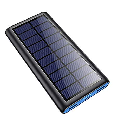 Solar Portable Charger 26800mAh, 【2020 Phone Charger】 Power Bank External Backup Battery Pack...