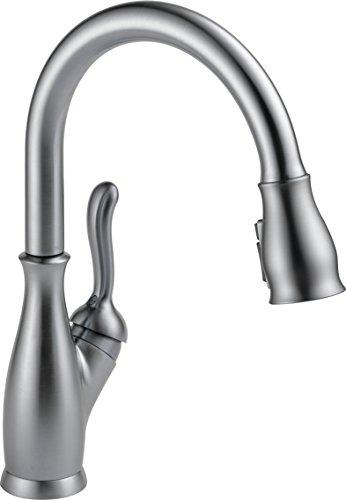 Delta Faucet Leland Pull Down Kitchen Faucet with Pull Down Sprayer, Kitchen Sink Faucet, Faucets...