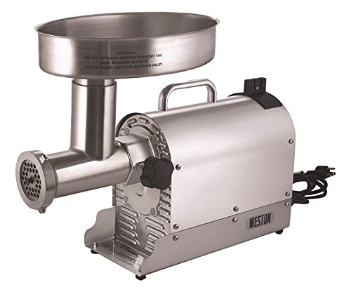 Weston Pro Series 22 Electric Meat Grinders, 1-HP - 750 Watts