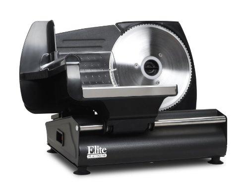 Elite Platinum EMT-503B Ultimate Precision Electric Deli Food Meat Slicer, Removable Stainless Steel...