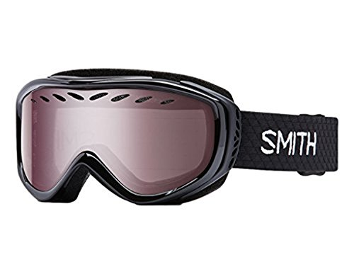 Smith Optics Transit Womens Airflow Series Snow Snowmobile Goggles Eyewear - Black/Ignitor...