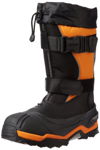 Baffin Men's Selkirk Snow Boot,Black/Expedition Gold,9 M US