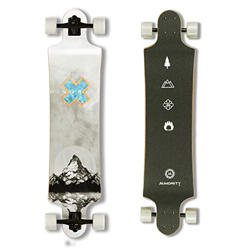 MINORITY Downhill Maple Longboard 40-inch Drop Deck (Alps)