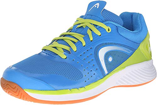 Head Men's Sprint Pro Indoor Low Shoe, Blue/Lime, 10 M US