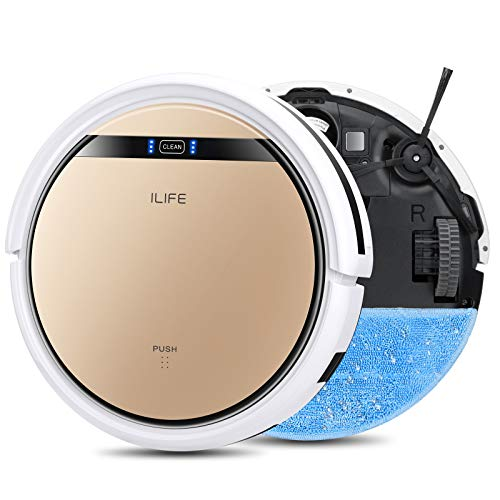 ILIFE V5s Pro, 2-in-1 Robot Vacuum and Mop, Slim, Automatic Self-Charging Robotic Vacuum, Daily...