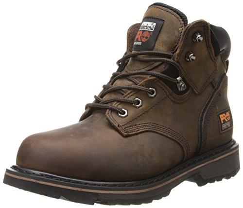 Timberland PRO Men's Pitboss 6' Steel-Toe Boot, Brown , 10 D - Medium
