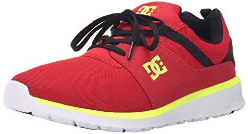 DC Men's Heathrow-u, Black/Red/Yellow, 9 M US