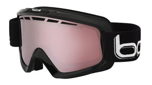 Bolle 21083 Nova II Ski Goggle, Shiny Black
