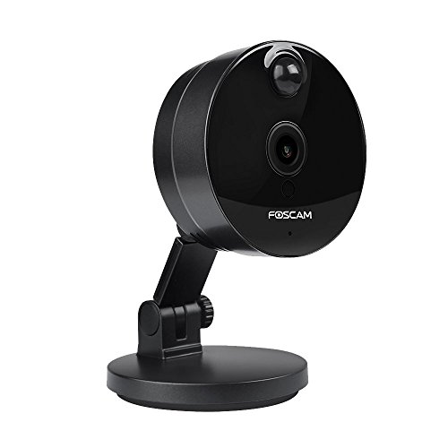Foscam C1 HD 720P WiFi Security IP Camera with iOS/Android App, Super Wide 115° Viewing Angle,...