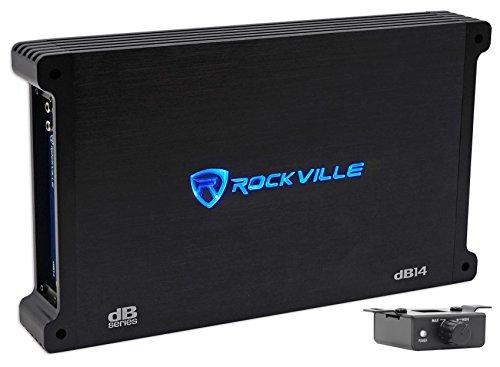 Rockville dB14 4000w Peak/1000w RMS Mono 2 Ohm Amplifier Car Audio Amp