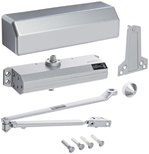 Hager - 5300M16ALM 5300 Series Aluminum Grade 1 Heavy Duty Surface Door Closer, Multi-Mount, 1–6...