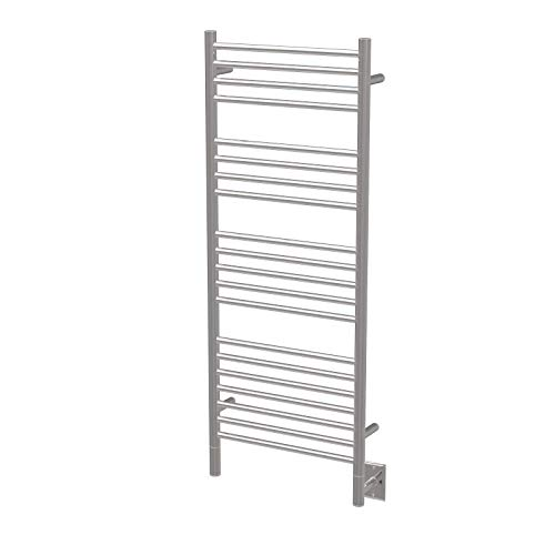 Amba Jeeves DSP-20 Model D 20-1/2' W x 52-3/4' H Straight Electric Heated Towel Warmer -Polished