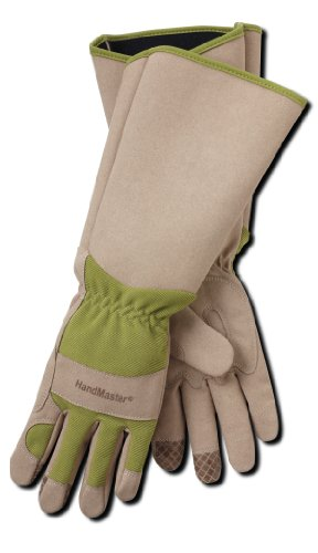 Professional Rose Pruning Thornproof Gardening Gloves with Extra Long Forearm Protection for Women...