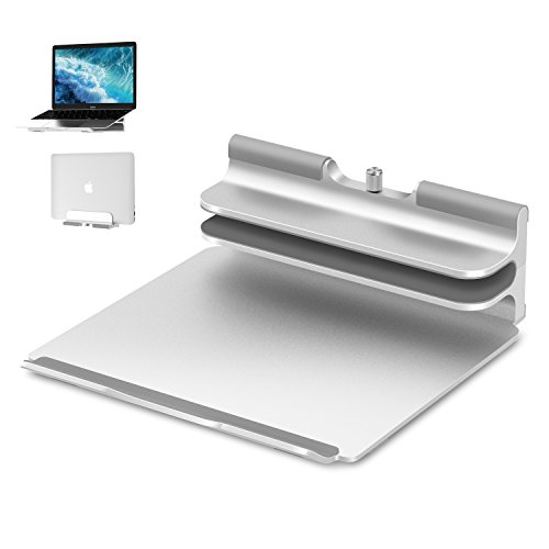Vertical Laptop Stand - Seenda Adjustable Laptop Stand, Vertical Stand plus Adjustable Height Stand...