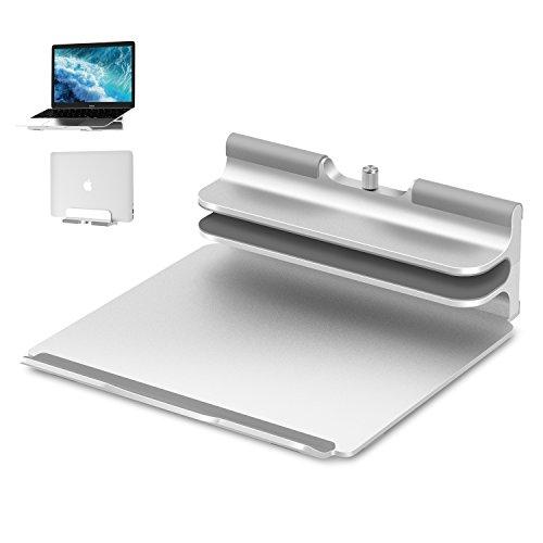 Vertical Laptop Stand - Seenda Adjustable Laptop Stand, Vertical Stand plus Adjustable Height Stand...