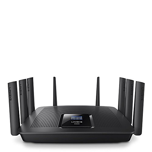 Linksys EA9500 Tri-Band Wi-Fi Router for Home (Max-Stream AC5400 MU-Mimo Fast Wireless Router),...