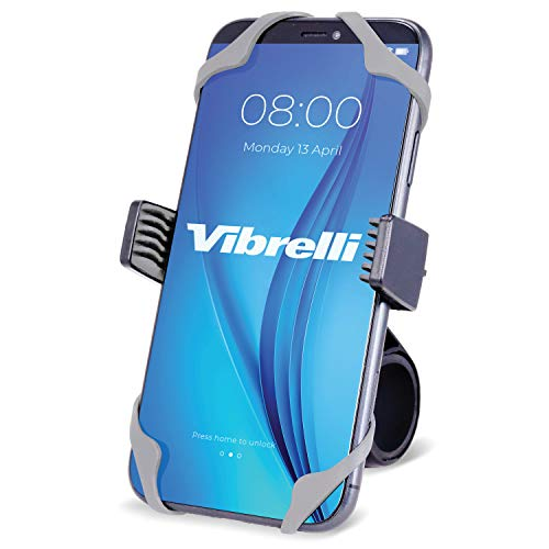 Vibrelli Universal Motorcycle & Bike Phone Mount   Handlebar Phone Holder for Bikes, Bicycles,...