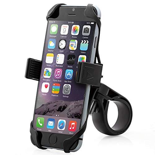 Aduro U-Grip Plus Universal Bike Mount - for Motorcycle, Handlebar, Roll Bar, iPhone X Xs 7 6 6s 7...