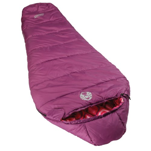 Coleman Kids 30 Degree Sleeping Bag, Snug Bug