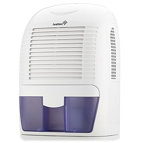 Ivation GDM30 Powerful Mid-Size Thermo-Electric Dehumidifier - Quietly Gathers Up to 20oz. of Water...