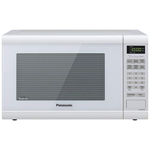 Panasonic NN-SN651WAZ Countertop with Inverter Technology and Genius Sensor Microwave Oven, 1.2 cft,...