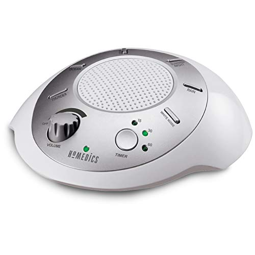 White Noise Sound Machine | Portable Sleep Therapy for Home, Office, Baby & Travel | 6 Relaxing &...