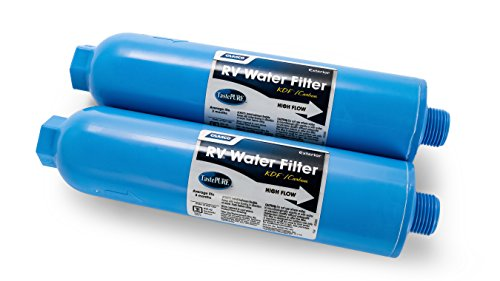 Camco 40045 TastePURE Inline RV Water Filter, Greatly Reduces Bad Taste, Odors, Chlorine and...
