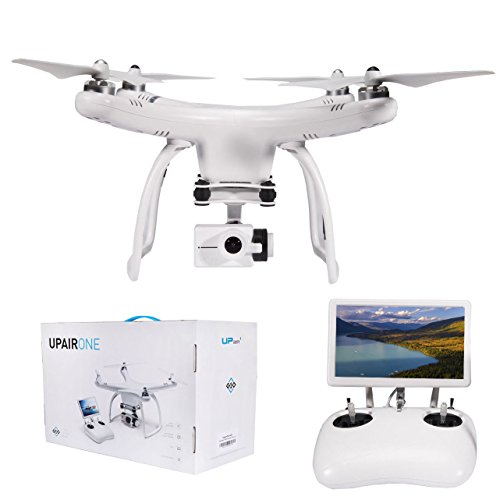 UPair 4K Quadcopter Drone w/ HD Video Camera ,7-Inch Large FPV Screen Live Video,Intelligent Return...