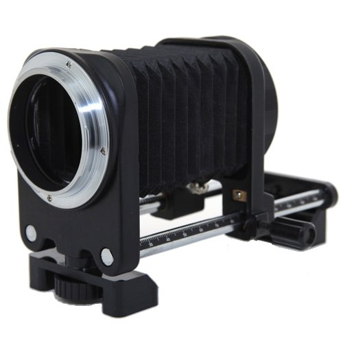 CowboyStudio One Way Macro Focusing Rail Slider Macro Bellows for Canon EOS Cameras