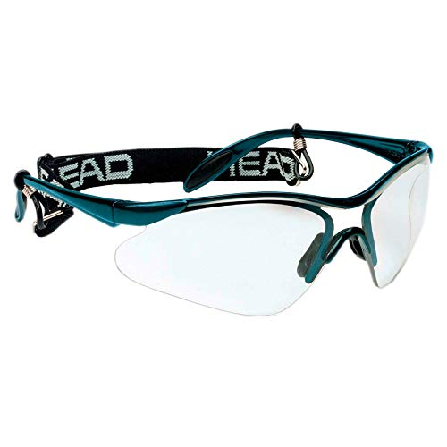 HEAD Racquetball Goggles - Rave Anti Fog & Scratch Resistant Protective Eyewear w/ Adjustable Strap