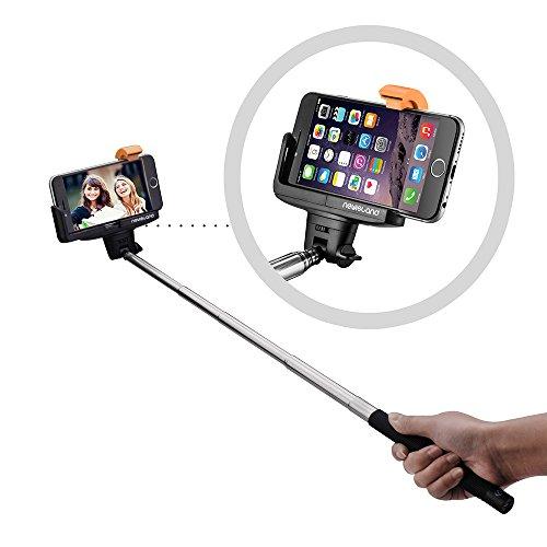 Selfie Stick, Newisland Pro 3-In-1 Bluetooth Self-portrait Monopod Extendable Selfie Stick with...