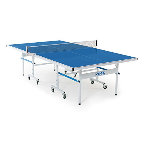 Stiga XTR Indoor/Outdoor Table Tennis Table 95% Preassembled Out of the Box with Aluminum Composite...