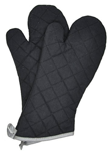 Nouvelle Legende Flame Retardant Quilted Oven Mitts (2-Pack)
