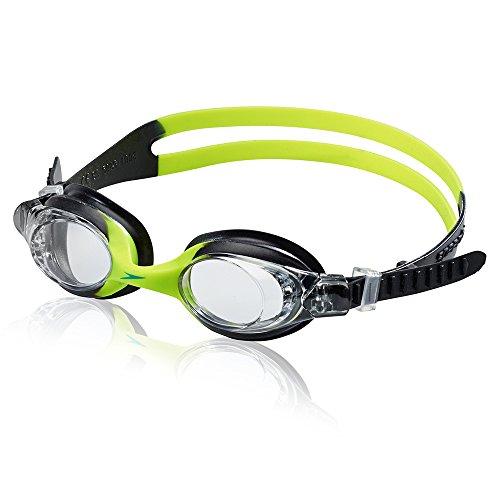 Speedo Kids Skoogles Swim Goggle, Black/Green, One Size