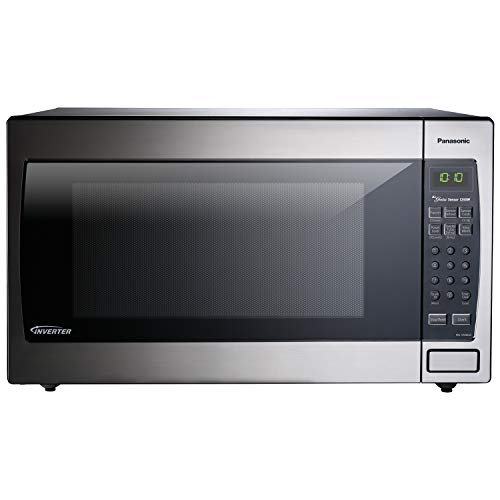 Panasonic Microwave Oven NN-SN966S Stainless Steel Countertop/Built-In with Inverter Technology and...