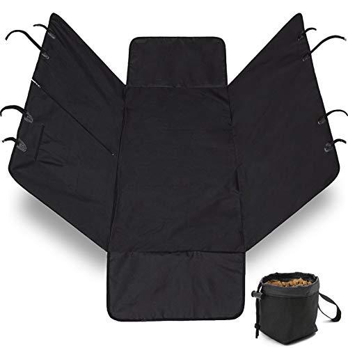 Gorilla Grip Original Durable Slip-Resistant Waterproof Dog Car Seat Protector Cover, Backseat...