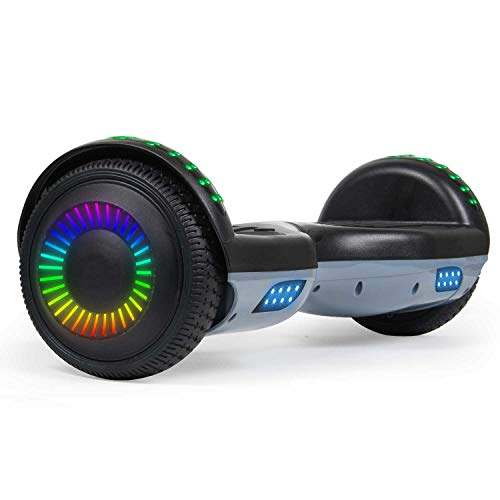 SISIGAD Hoverboard 6.5' Two-Wheel Self Balancing Hoverboard with Bluetooth Speaker for Adult Kids...