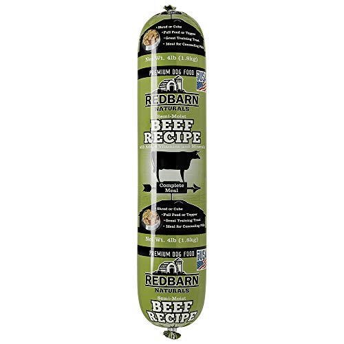 Redbarn Dog 4lb Beef Roll for Dogs (8-Count)